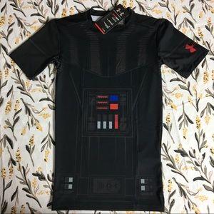 Under Armour men's Star Wars compression shirt NWT